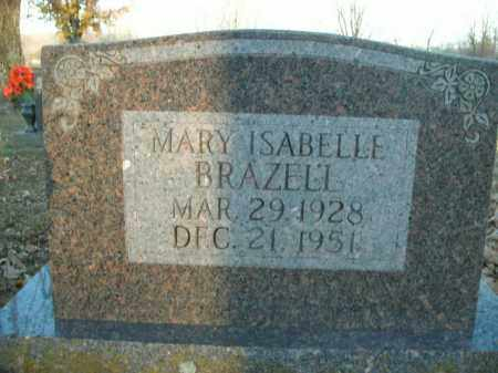 BRAZELL, MARY ISABELLE - Boone County, Arkansas | MARY ISABELLE BRAZELL - Arkansas Gravestone Photos