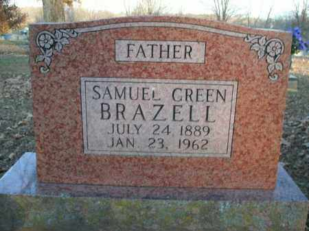 BRAZELL, SAMUEL GREEN - Boone County, Arkansas | SAMUEL GREEN BRAZELL - Arkansas Gravestone Photos