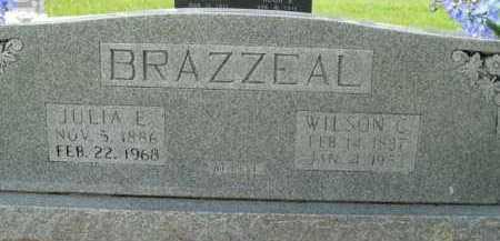 BRAZZEAL, JULIA E. - Boone County, Arkansas | JULIA E. BRAZZEAL - Arkansas Gravestone Photos
