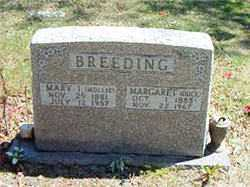 BREEDING, MARGARET (DUCK) - Boone County, Arkansas | MARGARET (DUCK) BREEDING - Arkansas Gravestone Photos