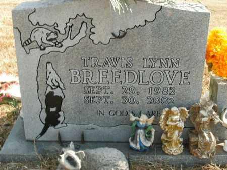 BREEDLOVE, TRAVIS LYNN - Boone County, Arkansas   TRAVIS LYNN BREEDLOVE - Arkansas Gravestone Photos