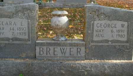 BREWER, GEORGE W. - Boone County, Arkansas   GEORGE W. BREWER - Arkansas Gravestone Photos