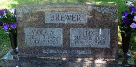 BREWER, FELIX E - Boone County, Arkansas | FELIX E BREWER - Arkansas Gravestone Photos