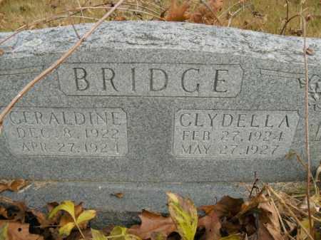 BRIDGE, GERALDINE - Boone County, Arkansas | GERALDINE BRIDGE - Arkansas Gravestone Photos