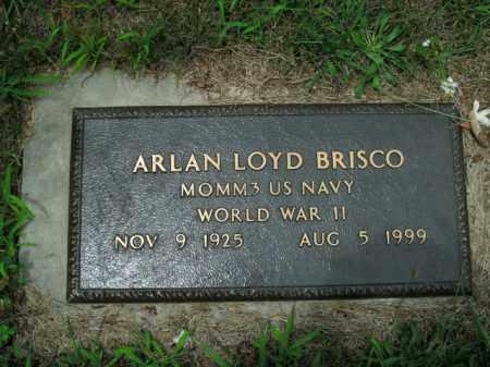 BRISCO  (VETERAN WWII), ARLAN LOYD - Boone County, Arkansas | ARLAN LOYD BRISCO  (VETERAN WWII) - Arkansas Gravestone Photos