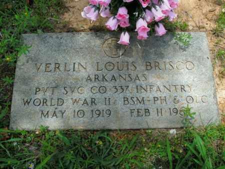 BRISCO  (VETERAN WWII), VERLIN LOUIS - Boone County, Arkansas | VERLIN LOUIS BRISCO  (VETERAN WWII) - Arkansas Gravestone Photos