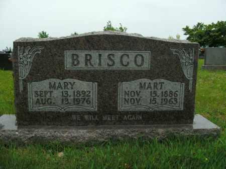 BRISCO, MARY - Boone County, Arkansas | MARY BRISCO - Arkansas Gravestone Photos