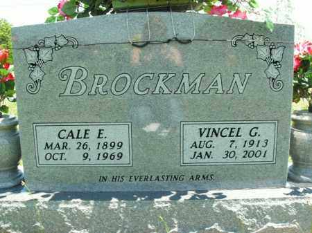 BROCKMAN, CALE E. - Boone County, Arkansas | CALE E. BROCKMAN - Arkansas Gravestone Photos