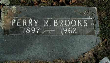 BROOKS, PERRY R. - Boone County, Arkansas   PERRY R. BROOKS - Arkansas Gravestone Photos