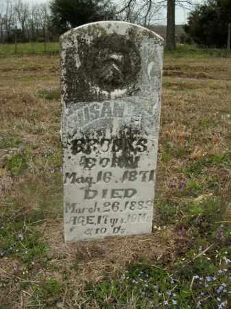 BROOKS, SUSAN E. - Boone County, Arkansas | SUSAN E. BROOKS - Arkansas Gravestone Photos