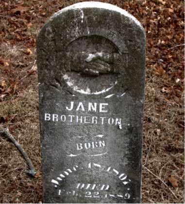 BROTHERTON, JANE - Boone County, Arkansas | JANE BROTHERTON - Arkansas Gravestone Photos