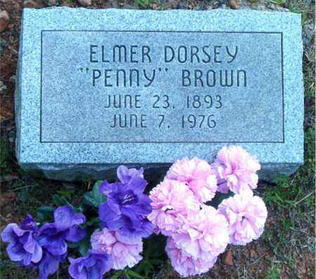 "BROWN, ELMER DORSEY ""PENNY"" - Boone County, Arkansas 