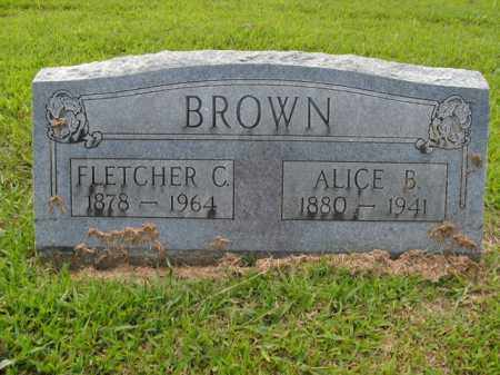 BROWN, ALICE B. - Boone County, Arkansas | ALICE B. BROWN - Arkansas Gravestone Photos