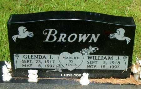 BROWN, WILLIAM J. - Boone County, Arkansas   WILLIAM J. BROWN - Arkansas Gravestone Photos