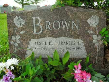 BROWN, FRANCES L. - Boone County, Arkansas | FRANCES L. BROWN - Arkansas Gravestone Photos