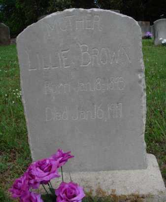 BROWN, LILLIE - Boone County, Arkansas | LILLIE BROWN - Arkansas Gravestone Photos