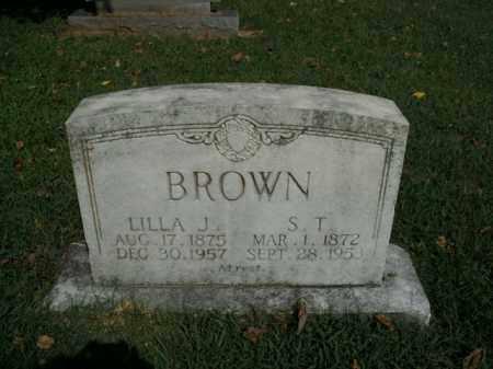 BROWN, LILLA J. - Boone County, Arkansas | LILLA J. BROWN - Arkansas Gravestone Photos