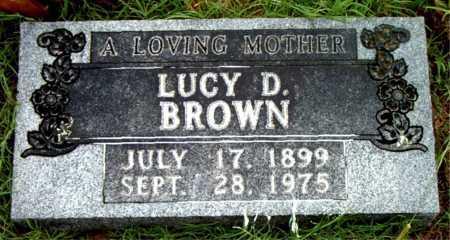 BROWN, LUCY D - Boone County, Arkansas | LUCY D BROWN - Arkansas Gravestone Photos
