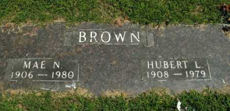 BROWN, MAE ELIZABETH - Boone County, Arkansas   MAE ELIZABETH BROWN - Arkansas Gravestone Photos