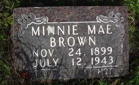 BROWN, MINNIE MAE - Boone County, Arkansas | MINNIE MAE BROWN - Arkansas Gravestone Photos