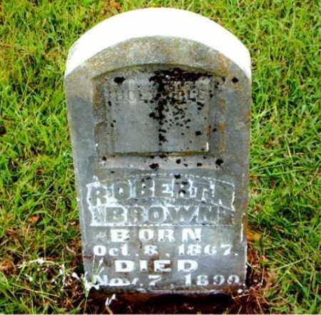 BROWN, ROBERT  N. - Boone County, Arkansas | ROBERT  N. BROWN - Arkansas Gravestone Photos