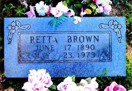 BROWN, RETTA - Boone County, Arkansas   RETTA BROWN - Arkansas Gravestone Photos