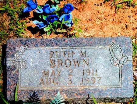 BROWN, RUTH M. - Boone County, Arkansas | RUTH M. BROWN - Arkansas Gravestone Photos