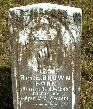 BROWN, E. - Boone County, Arkansas   E. BROWN - Arkansas Gravestone Photos