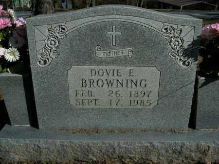 BROWNING, DOVIE E. - Boone County, Arkansas   DOVIE E. BROWNING - Arkansas Gravestone Photos