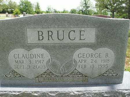 BRUCE, CLAUDINE - Boone County, Arkansas | CLAUDINE BRUCE - Arkansas Gravestone Photos