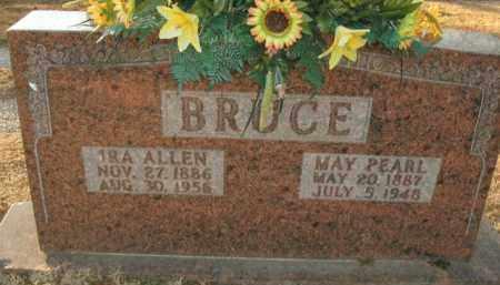 BRUCE, IRA ALLEN - Boone County, Arkansas   IRA ALLEN BRUCE - Arkansas Gravestone Photos