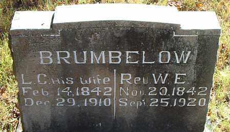 BRUMBELOW, W. E. - Boone County, Arkansas | W. E. BRUMBELOW - Arkansas Gravestone Photos