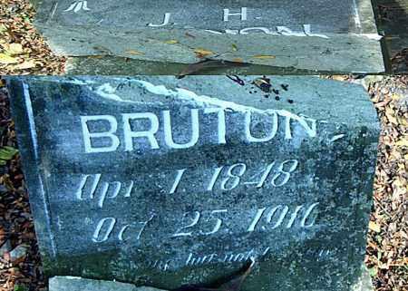 BRUTON, JOHN HARRELL - Boone County, Arkansas | JOHN HARRELL BRUTON - Arkansas Gravestone Photos