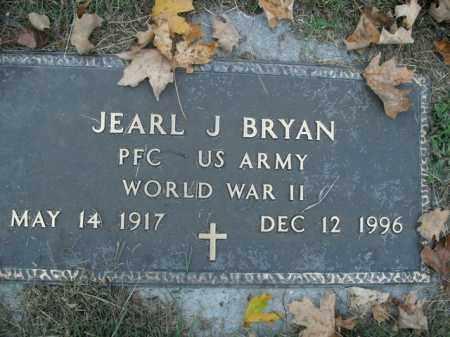 BRYAN  (VETERAN WWII), JEARL J - Boone County, Arkansas | JEARL J BRYAN  (VETERAN WWII) - Arkansas Gravestone Photos