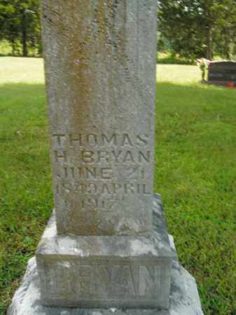 BRYAN, THOMAS HASILRIG - Boone County, Arkansas | THOMAS HASILRIG BRYAN - Arkansas Gravestone Photos