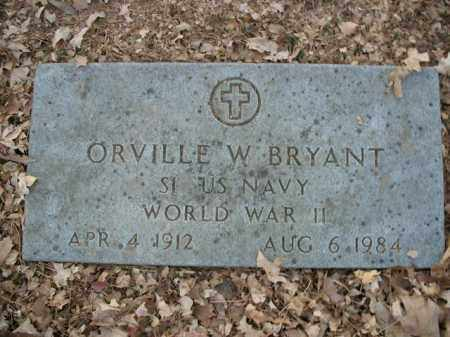 BRYANT  (VETERAN WWII), ORVILLE W - Boone County, Arkansas | ORVILLE W BRYANT  (VETERAN WWII) - Arkansas Gravestone Photos