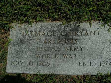 BRYANT  (VETERAN WWII), TALMAGE C. - Boone County, Arkansas   TALMAGE C. BRYANT  (VETERAN WWII) - Arkansas Gravestone Photos