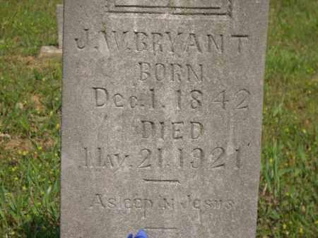 BRYANT, J. W. - Boone County, Arkansas | J. W. BRYANT - Arkansas Gravestone Photos