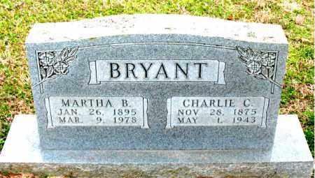 BAKER BRYANT, MARTHA B. - Boone County, Arkansas   MARTHA B. BAKER BRYANT - Arkansas Gravestone Photos