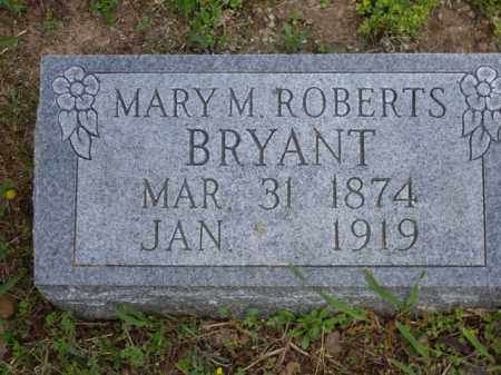 ROBERTS BRYANT, MARY M. - Boone County, Arkansas | MARY M. ROBERTS BRYANT - Arkansas Gravestone Photos