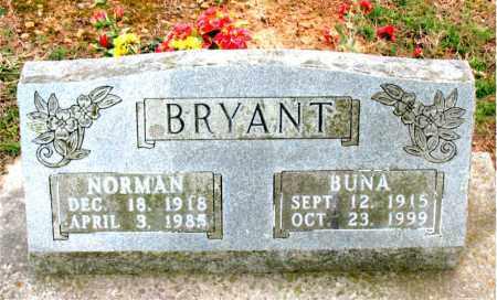 ROBERTS BRYANT, BUNA - Boone County, Arkansas | BUNA ROBERTS BRYANT - Arkansas Gravestone Photos