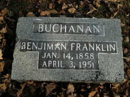 BUCHANAN, BENJIMAN FRANKLIN - Boone County, Arkansas | BENJIMAN FRANKLIN BUCHANAN - Arkansas Gravestone Photos