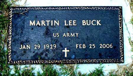 BUCK  (VETERAN), MARTIN LEE - Boone County, Arkansas | MARTIN LEE BUCK  (VETERAN) - Arkansas Gravestone Photos