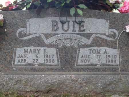 BUIE, THOMAS  A. - Boone County, Arkansas | THOMAS  A. BUIE - Arkansas Gravestone Photos