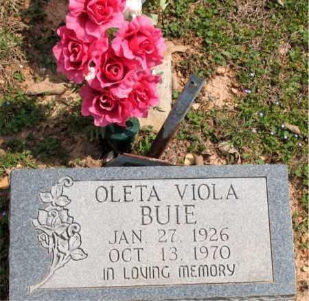 GILLEN BUIE, OLETA VIOLA - Boone County, Arkansas | OLETA VIOLA GILLEN BUIE - Arkansas Gravestone Photos