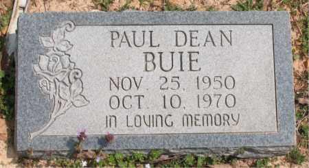 BUIE, PAUL DEAN - Boone County, Arkansas | PAUL DEAN BUIE - Arkansas Gravestone Photos