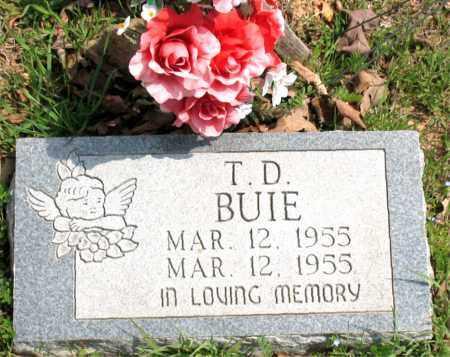 BUIE, T.  D. - Boone County, Arkansas | T.  D. BUIE - Arkansas Gravestone Photos