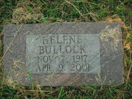 BULLOCK, HELENE - Boone County, Arkansas | HELENE BULLOCK - Arkansas Gravestone Photos