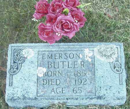 BUTLER, EMERSON KENT - Boone County, Arkansas   EMERSON KENT BUTLER - Arkansas Gravestone Photos