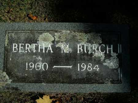 BURCH, BERTHA M. - Boone County, Arkansas   BERTHA M. BURCH - Arkansas Gravestone Photos
